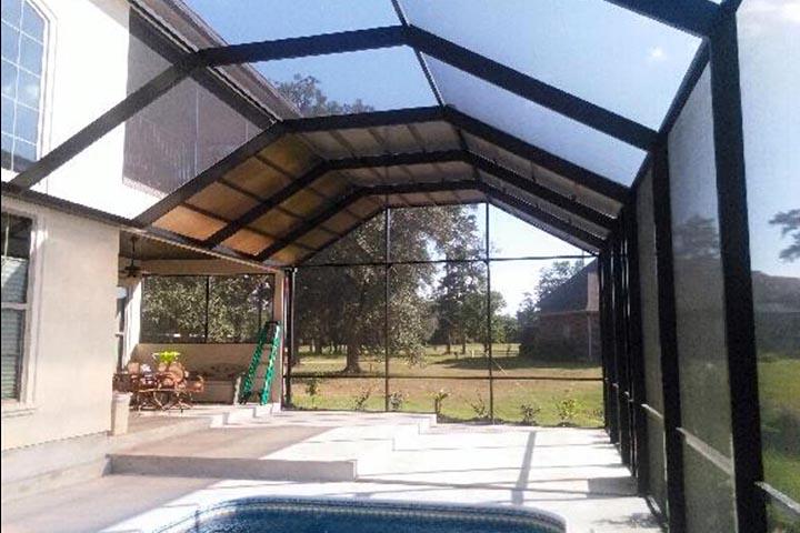 Lexan Pool Enclosures Lexal Structures Sun Rooms Pool Enclosures Screen Rooms Patio Covers Car Ports Pergolas Summerdale Alabama Florida