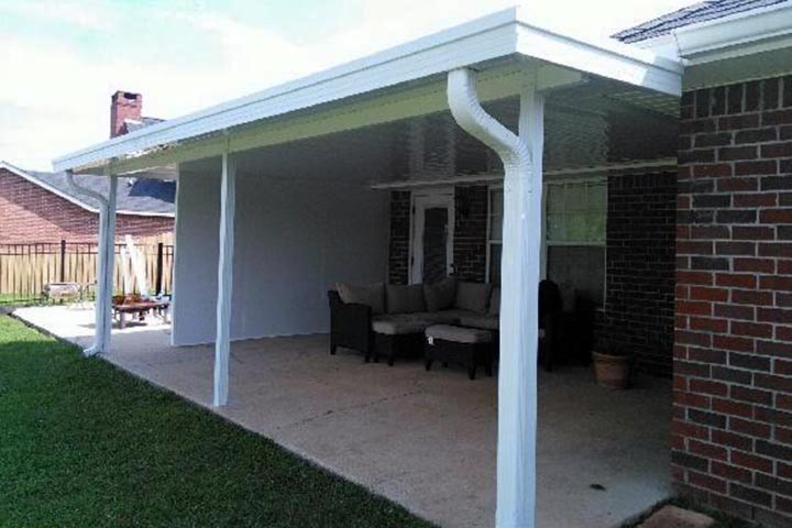 Patio covers car ports sun rooms summerdale alabama for Car patio covers