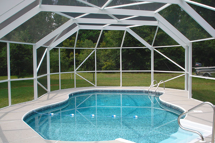 Pool Enclosures Swimming Pool Screen Swimming Pool Protection Summerdale Alabama