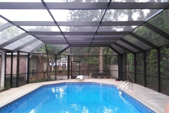 Pool enclosures alabama pool screen pool protection for Pool enclosure design software