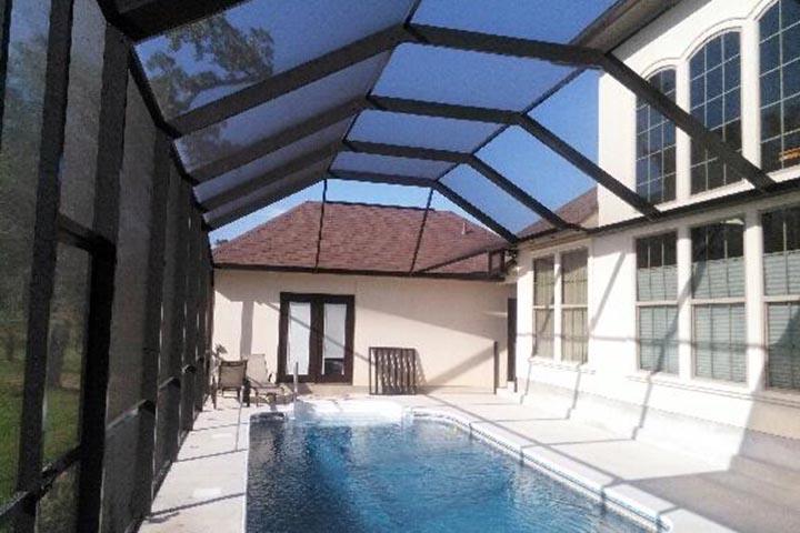 Pool enclosures swimming pool screen swimming pool for Pool enclosure design software