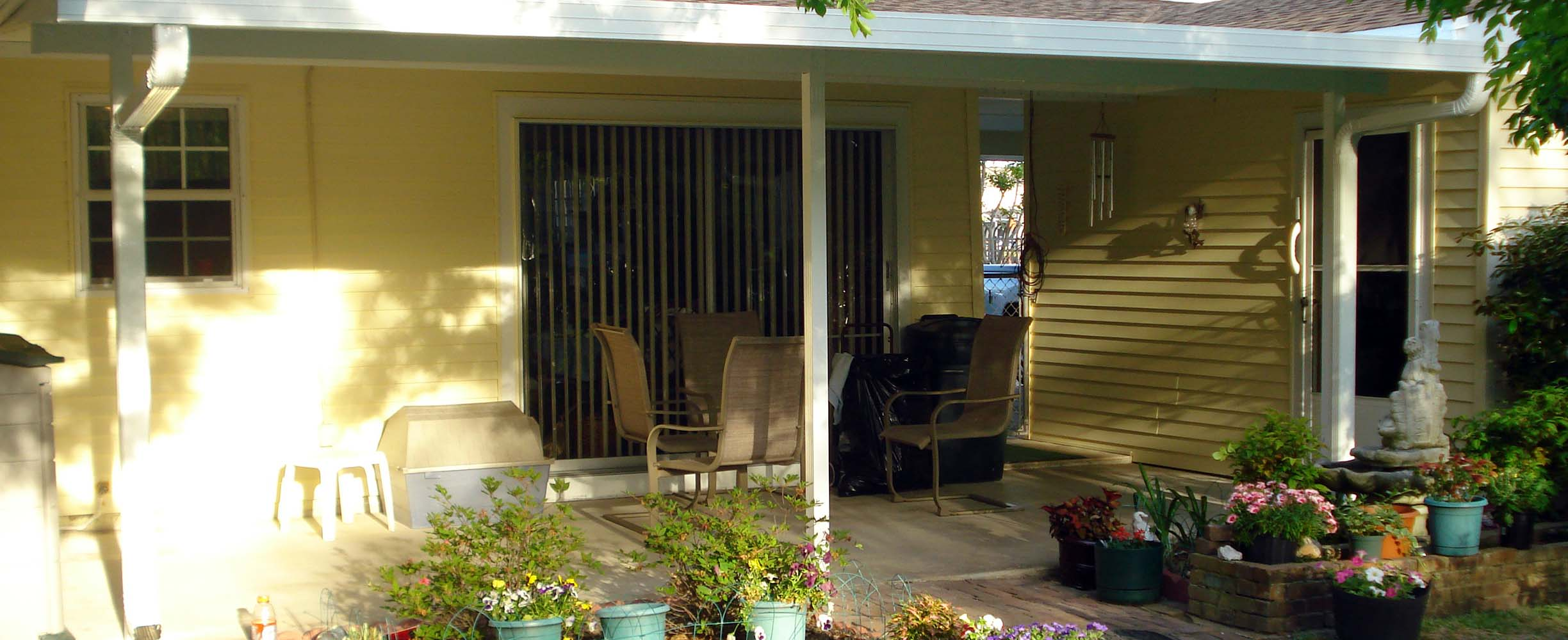 Patio cover are practical solutions that makes a patio space more practical in a very cost-effective manner.