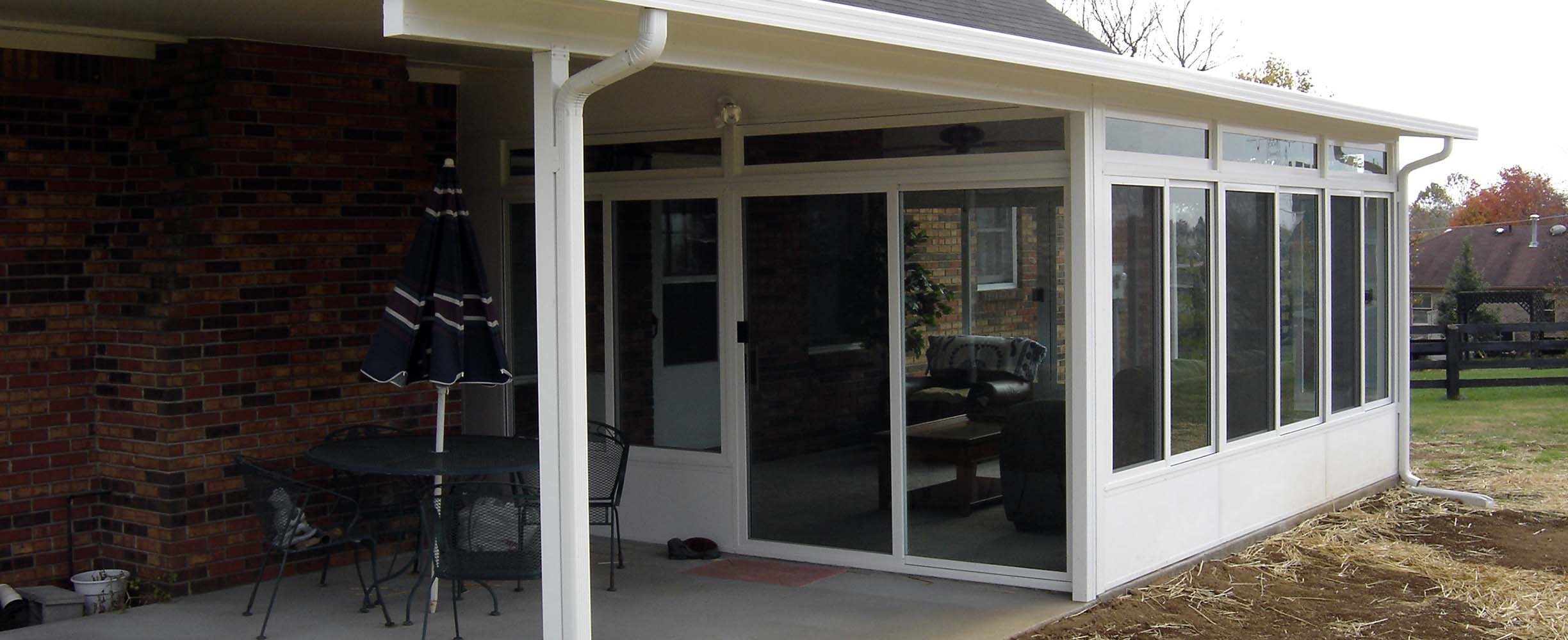 Patio Covers Can Be Mixed With Patio Sunrooms To Make Really Practical  House Extensions Within A