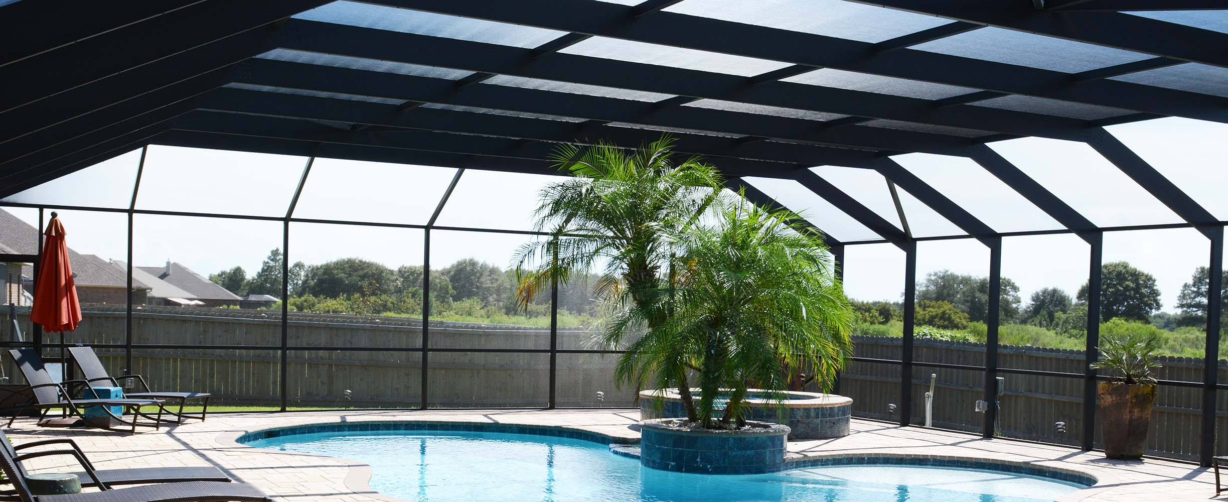Southern patio and screens pool enclosures sunrooms - Swimming pool enclosures ...